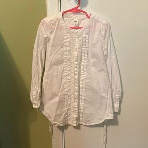 Sweet white OshKosh blouse with back tie